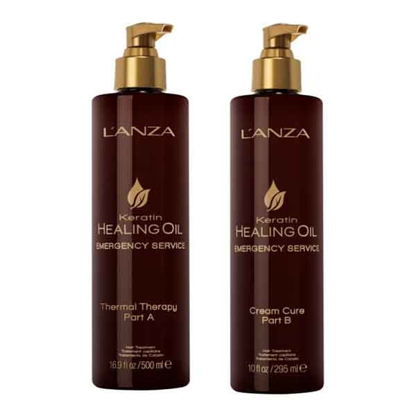 Термальная терапия L'anza Keratin Healing Oil Emergency Service Thermal Therapy